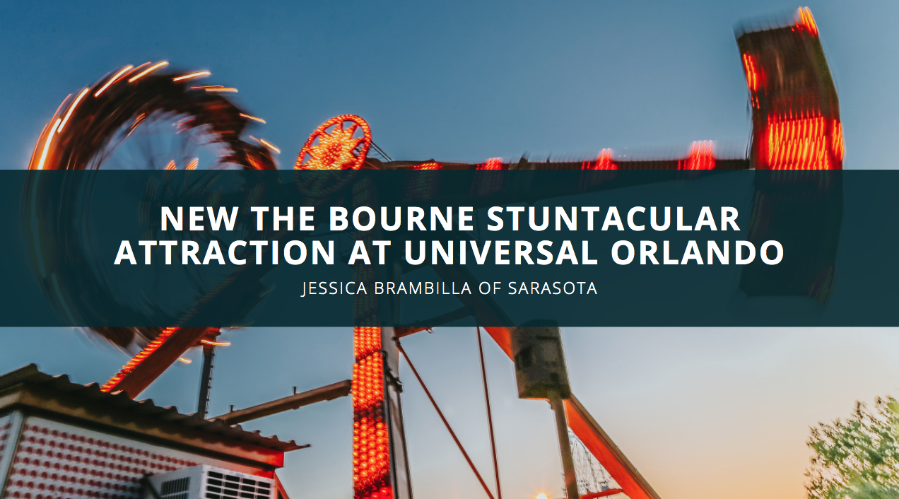 Theme Park Reviewer Jessica Brambilla Discusses the New The Bourne Stuntacular Attraction at Universal Orlando