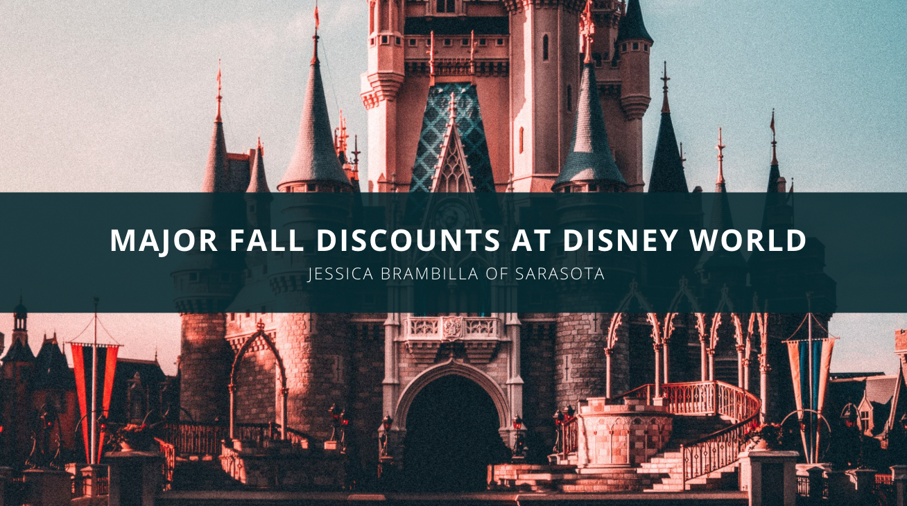 Theme Park Reviewer Jessica Brambilla of Sarasota Announces Major Fall Discounts at Disney World